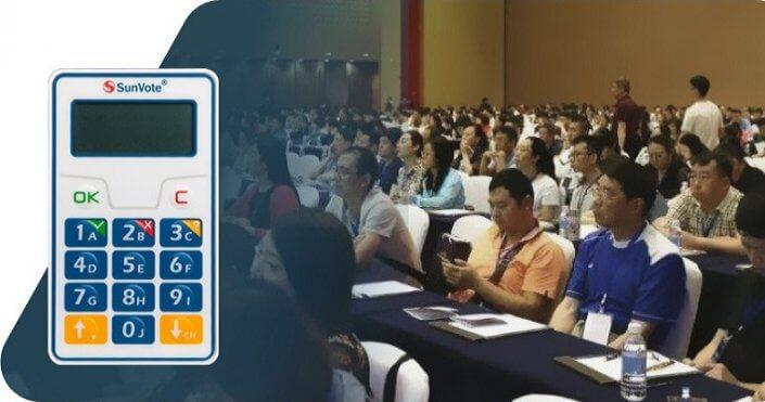 Audience Response System for condominium meeting